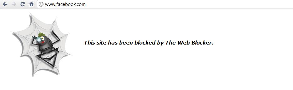 Block Facebook
